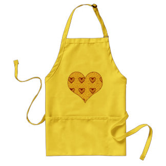 Delantal Amor caseoso de la pizza