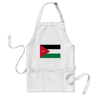 Delantal ¡Bajo costo! Bandera de Jordania