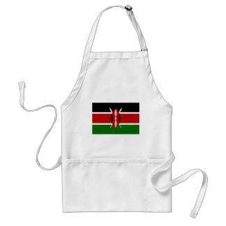 Delantal ¡Bajo costo! Bandera de Kenia