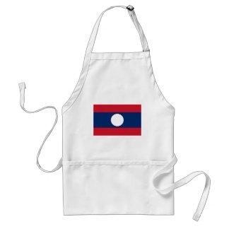 Delantal ¡Bajo costo! Bandera de Laos