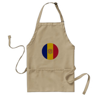 Delantal Bandera de Andorra