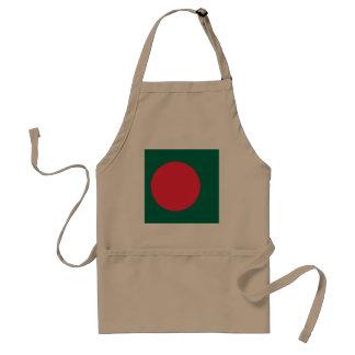 Delantal Bandera de Bangladesh