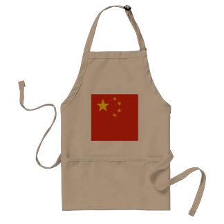 Delantal Bandera de China