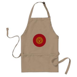Delantal Bandera de Kirguistán