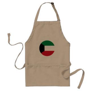 Delantal Bandera de Kuwait