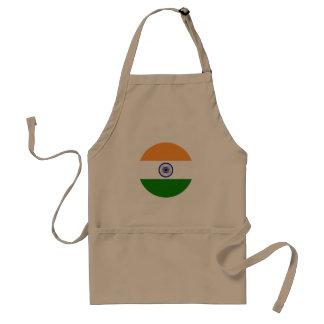 Delantal Bandera de la India