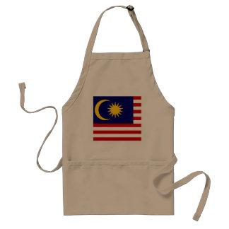 Delantal Bandera de Malasia