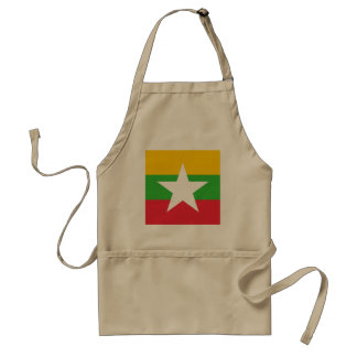 Delantal Bandera de Myanmar