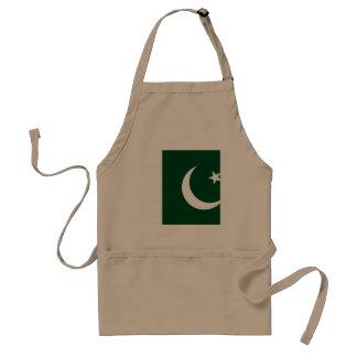 Delantal Bandera de Paquistán
