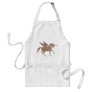 Delantal Caballo de moda de Pegaso del unicornio de la
