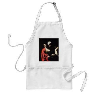 Delantal Caravaggio - Salome - ilustraciones barrocas