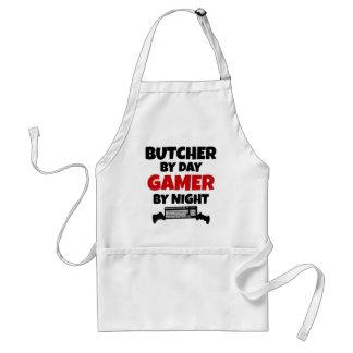 Delantal Carnicero por videojugador del día por noche