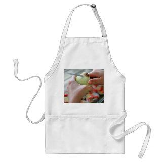 Delantal Cortar una cebolla