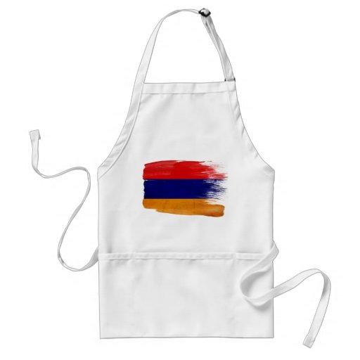 Delantal de la bandera de Armenia