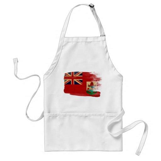 Delantal de la bandera de Bermudas