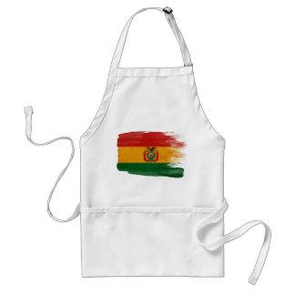 Delantal de la bandera de Bolivia