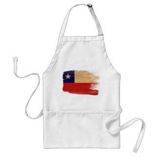 Delantal de la bandera de Chile