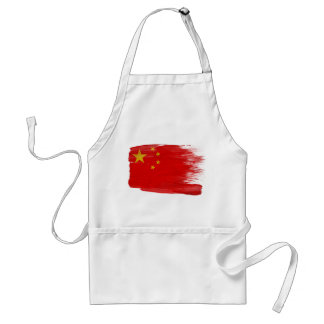 Delantal de la bandera de China