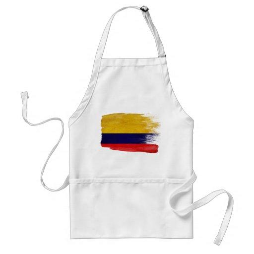 Delantal de la bandera de Colombia