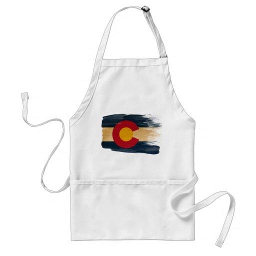 Delantal de la bandera de Colorado