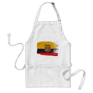Delantal de la bandera de Ecuador