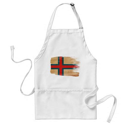 Delantal de la bandera de Faroe Island