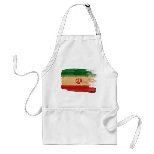Delantal de la bandera de Irán