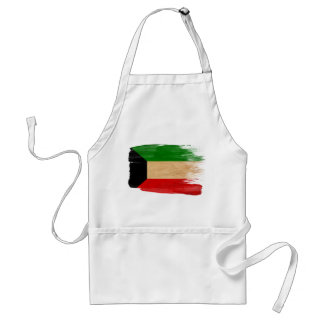 Delantal de la bandera de Kuwait