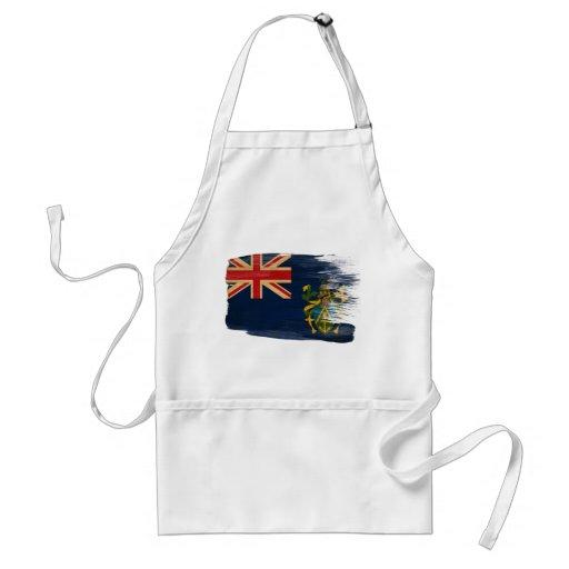 Delantal de la bandera de las islas de Pitcairn