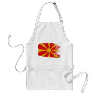 Delantal de la bandera de Macedonia