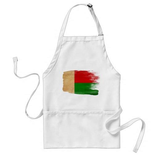 Delantal de la bandera de Madagascar