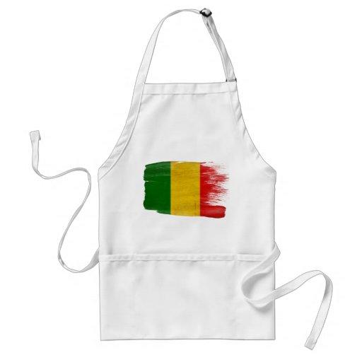 Delantal de la bandera de Malí