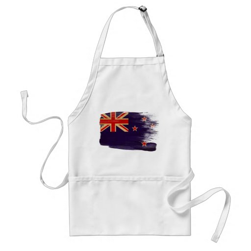 Delantal de la bandera de Nueva Zelanda