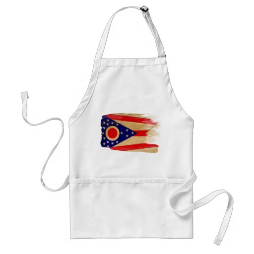 Delantal de la bandera de Ohio
