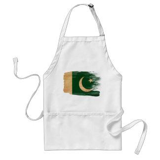 Delantal de la bandera de Paquistán