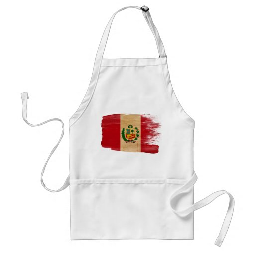 Delantal de la bandera de Perú