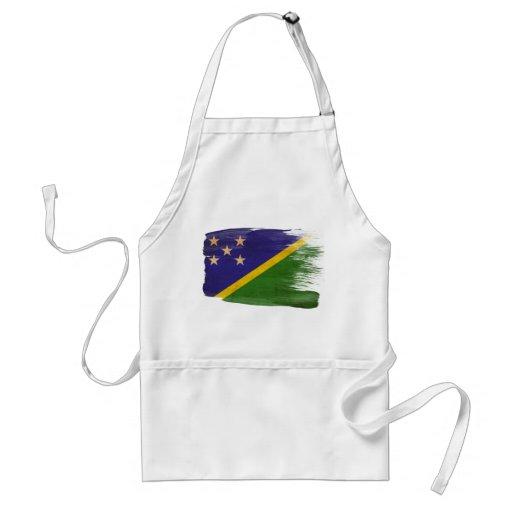 Delantal de la bandera de Solomon Island