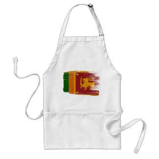 Delantal de la bandera de Sri Lanka