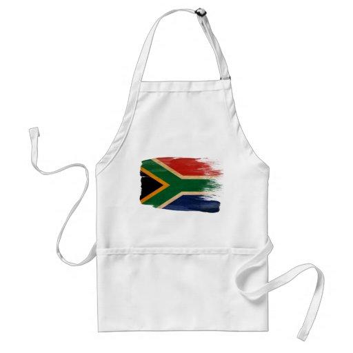 Delantal de la bandera de Suráfrica