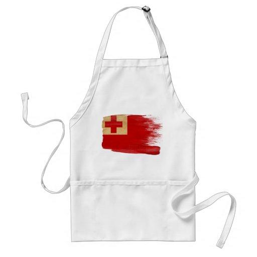 Delantal de la bandera de Tonga