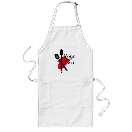 Delantal de los utensilios del cocinero zazzle for Utensilios para cocineros