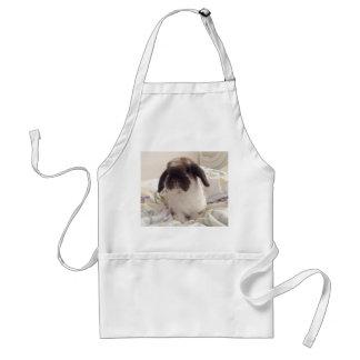Delantal Deje este ayudante peludo cocinar con usted