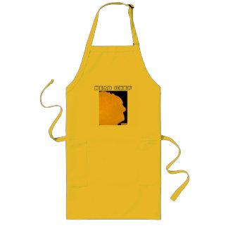 Delantal del arte de la crepe del chef
