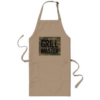 Delantal del Bbq de Grill Master con camuflaje del