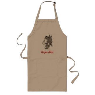 Delantal del cocinero de Cajun
