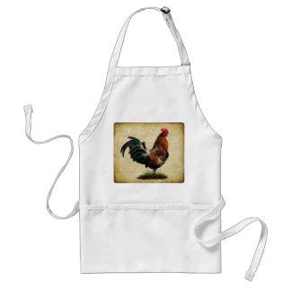 Delantal del gallo del vintage