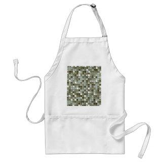 delantal del mozaics