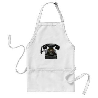 Delantal del teléfono del vintage