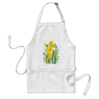 Delantal Día amarillo Lillies