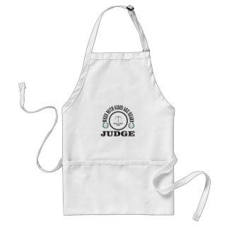 Delantal dos lados entonces juzgan